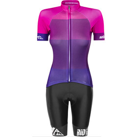 Red Cycling Products Colorblock Race Set Dam purple-pink
